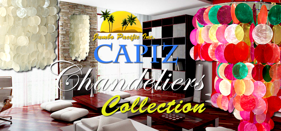Hanging Capiz Home Light Lamps Decoration.
